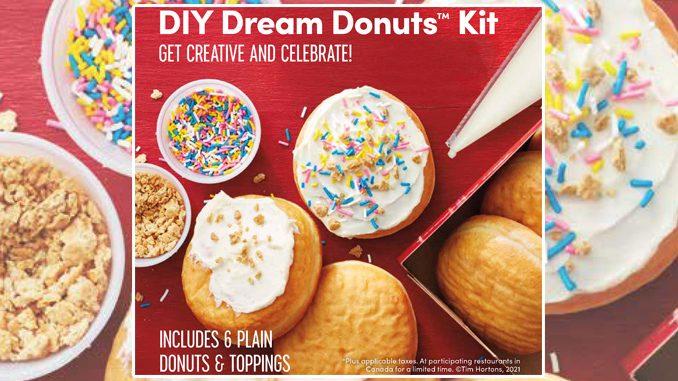Tim Hortons Releases New Mother's Day DIY Dream Donut Kit