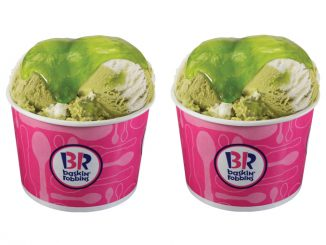 Baskin-Robbins Canada Adds New Summertime Lime Ice Cream And New Sour Berry Slime Topping
