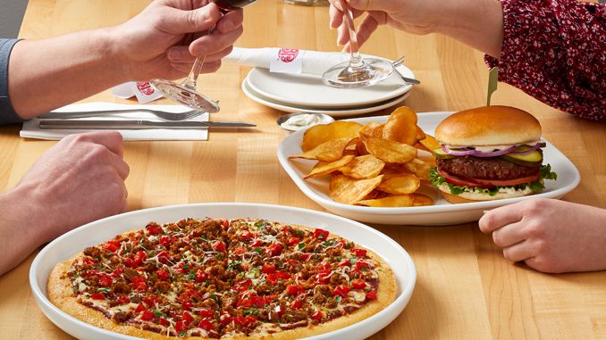 Boston Pizza Introduces New Plant-Based Burger And New Plant-Based Pizza