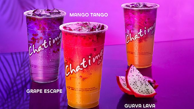 Chatime Canada Pours New Tropical Trio Beverages Made With Real Dragon Fruit Bits