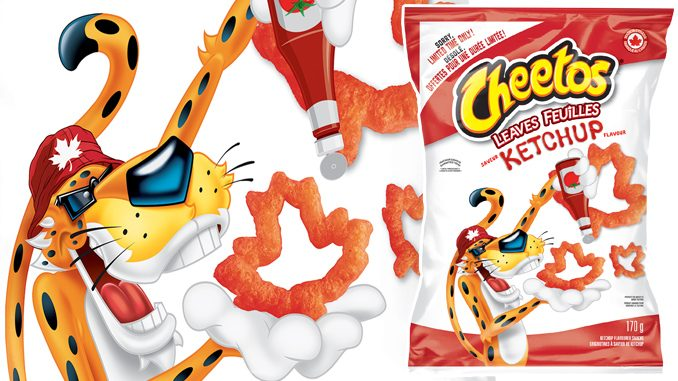 Cheetos Canada Unveils New Cheetos Leaves Ketchup Flavoured Snacks