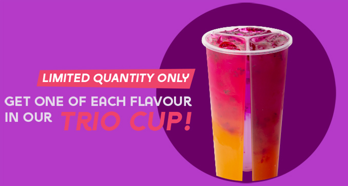 Limited-edition Trio cup