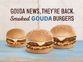 Smoked Gouda Burgers Return To A&W Canada For A Limited Time