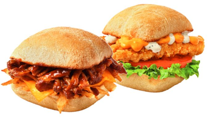 Tim Hortons Adds New BBQ Pulled Pork, And New Buffalo Chicken Ranch Craveables