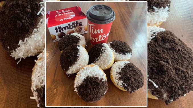 Tim Hortons Is Selling A Limited-Edition Eclipse Donut In Stonewall, Manitoba