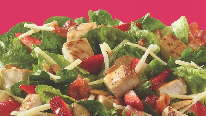 Wendy's Canada Brings Back Summer Strawberry Chicken Salad