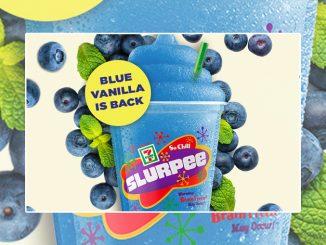 7-Eleven Canada Brings Back Fanta Blue Vanilla Slurpee Flavour