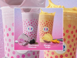 Baskin-Robbins Canada Pours New Iced Tea Freeze Beverages