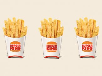 Burger King Canada Offers Free Fries With Any Mobile Order Of $1 Or More From July 12 Through July 18, 2021