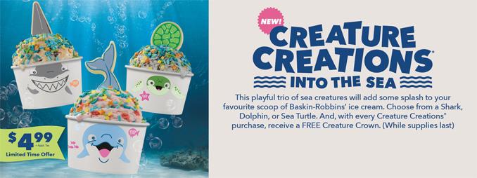 Creature Creations Into the Sea