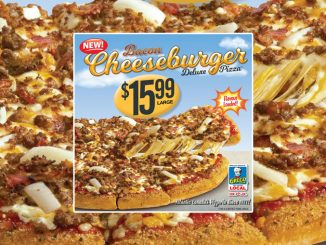 Greco Pizza Introduces New Bacon Cheeseburger Deluxe Pizza And Garlic Fingers