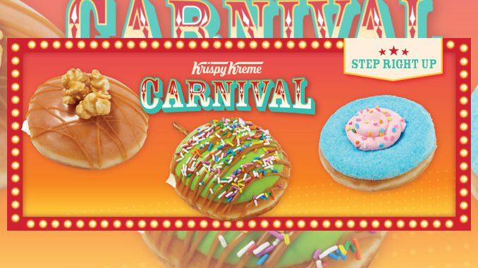 Krispy Kreme Canada Launches New Carnival Doughnut Collection