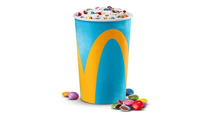 McDonald's Canada Adds New Slam Dunk Cookie McFlurry