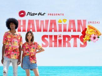 Pizza Hut Canada Releases Limited-Edition Hawaiian Pizza Shirts
