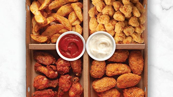 Pizza Pizza Adds New Wing It Box