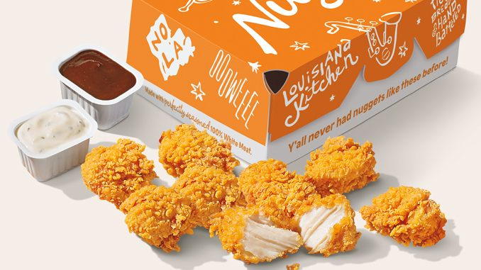 Popeyes Canada Adding New Chicken Nuggets To Menus On July 27, 2021