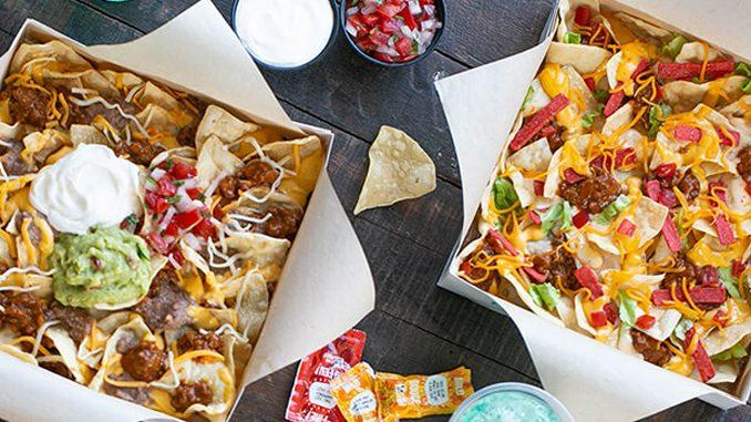 Taco Bell Canada Adds New Beef Supreme Grande Nachos And New Loaded Taco Grande Nachos
