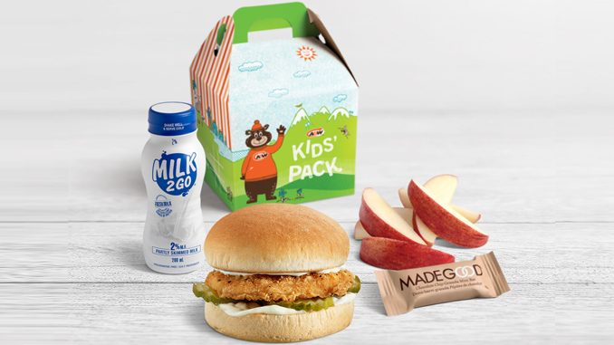 A&W Canada Introduces New Kids' Pack Meals
