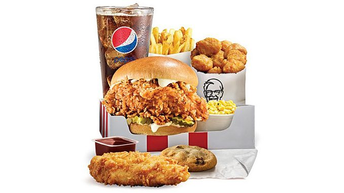 KFC Canada Adds New KFC Famous Chicken Chicken Sandwich Ultimate Box Meal