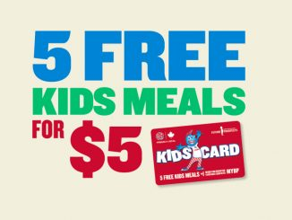 Kids Cards Are Back At Boston Pizza Until September 26, 2021