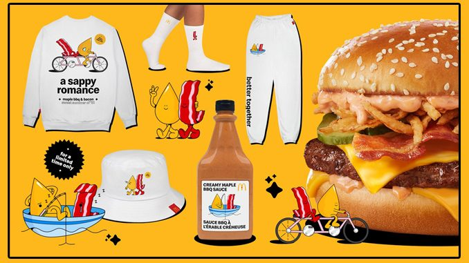 McDonald's Canada Offers Fans A Chance To Win Maple & Bacon-Themed Merch Kits