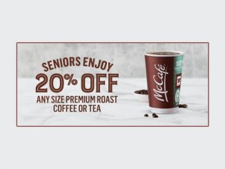 McDonald's Canada Offers Seniors 20% Off Any Size Coffee Or Tea Every Day