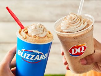 The Pumpkin Pie Blizzard And Pumpkin Shake Return To Dairy Queen Canada For Fall 2021