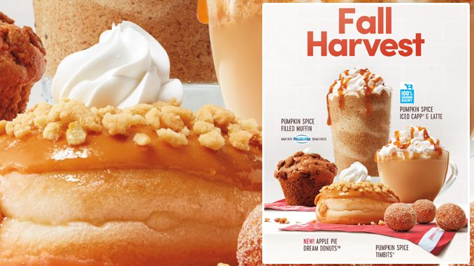 Tim Hortons Introduces New Apple Pie Dream Donut As Part Of New 2021 Fall Lineup