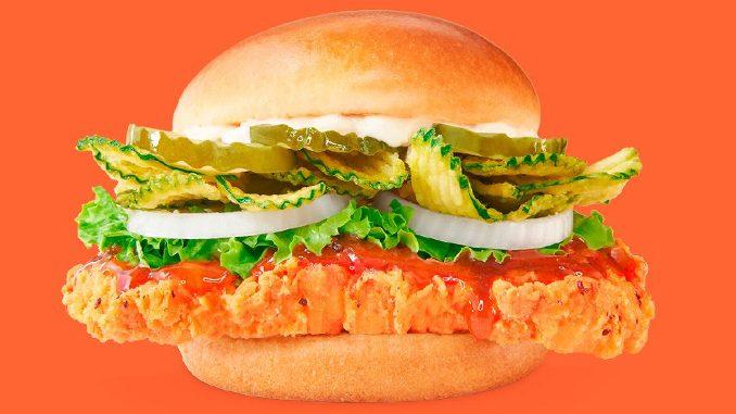 Wendy's Canada Introduces New Sweet Thai Chili Chicken Sandwich