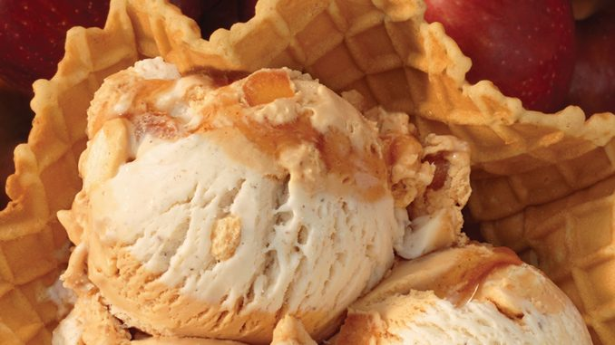 Baskin-Robbins Canada Launches New Inside Out Apple Pie Flavour