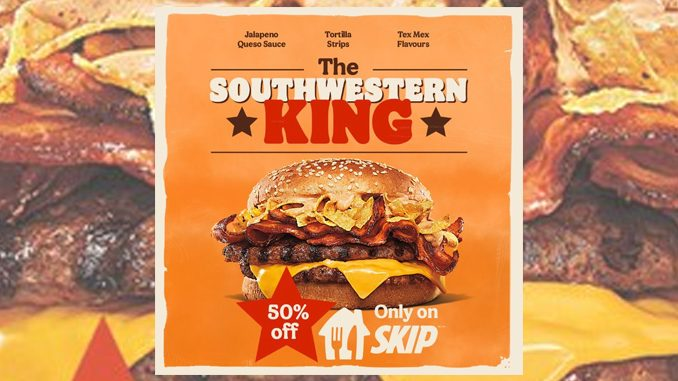 Burger King Canada Launches New Southwestern King