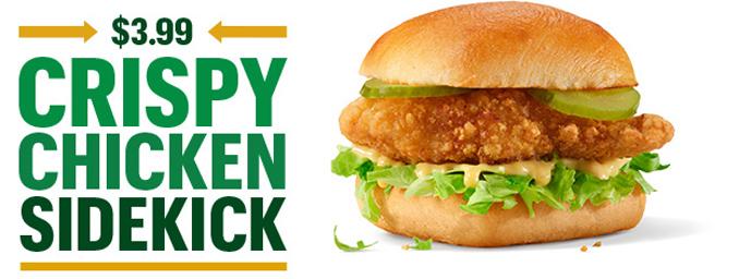 Crispy Chicken Sidekick