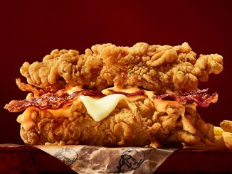 KFC Canada Welcomes Back The Double Down Sandwich