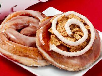 Krispy Kreme Canada Introduces New Cinnamon Rolls