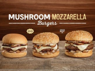 Mushroom Mozzarella Burgers Return To A&W Canada