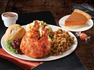Swiss Chalet Welcomes Back Thanksgiving Feast Menu Through October 11, 2021