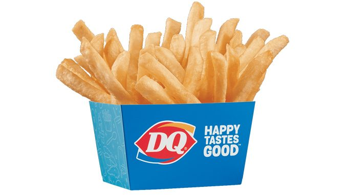 Dairy Queen Canada Offers Free Fries On October 12, 2021