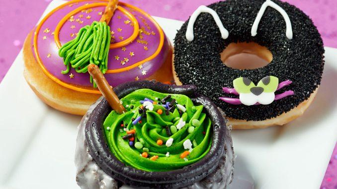 Krispy Kreme Canada Adds New 2021 Halloween Doughnuts