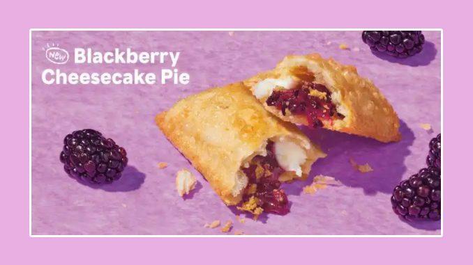 Popeyes Canada Adds New Blackberry Cheesecake Pie