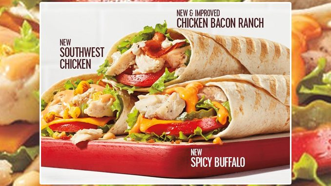 Tim Hortons Adds New Southwest Chicken Wrap And Spicy Buffalo Chicken Wrap